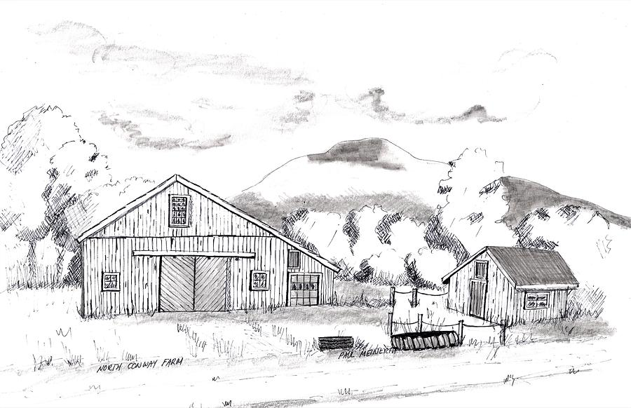 North Conway F Drawing