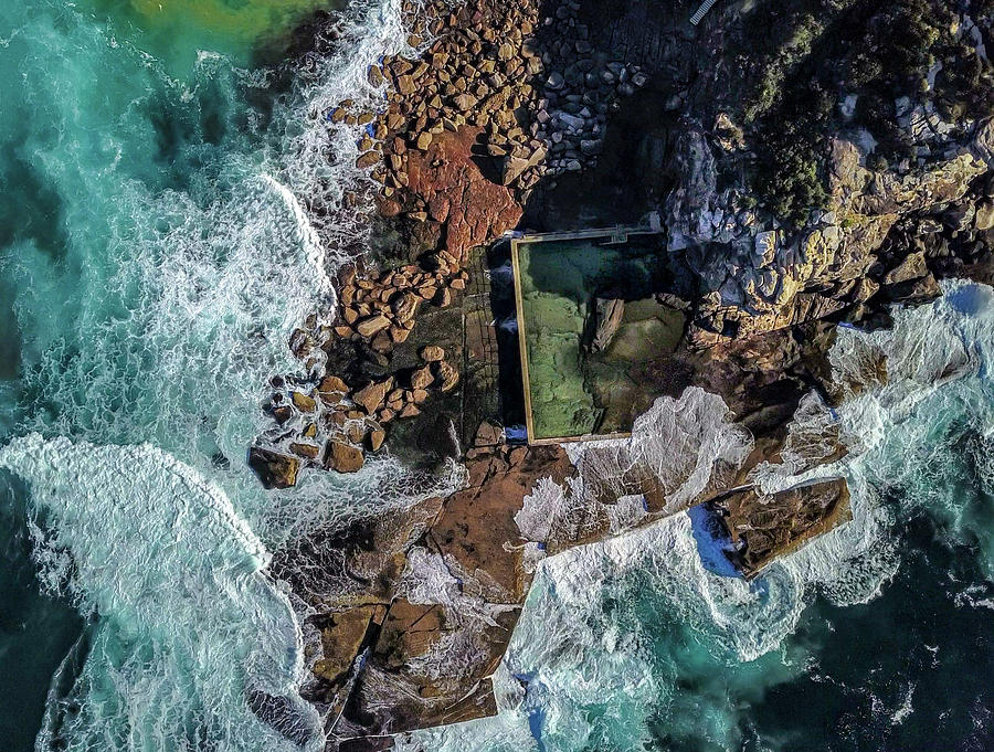 North Curl Curl Headland and Pool by Chris Cousins