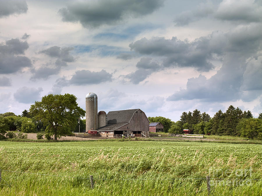 North Dakota Barn, 2008 by Carol Highsmith