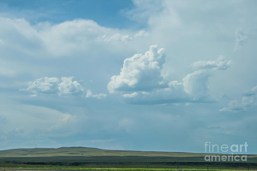 North Eastern New Mexico Landscape by Tony Baca
