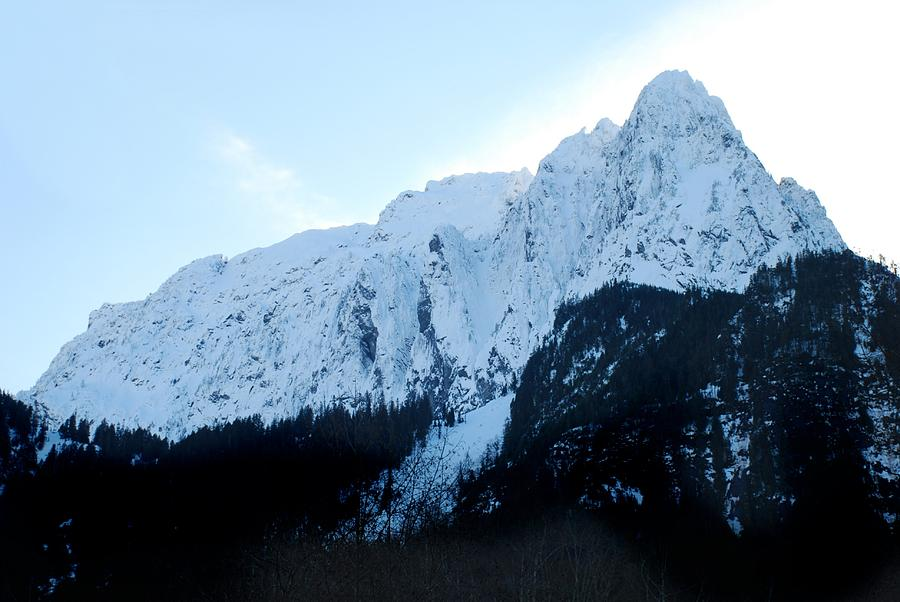North Face of Mount Index in Mid-Winter by SCENIC EDGE PHOTOGRAPHY