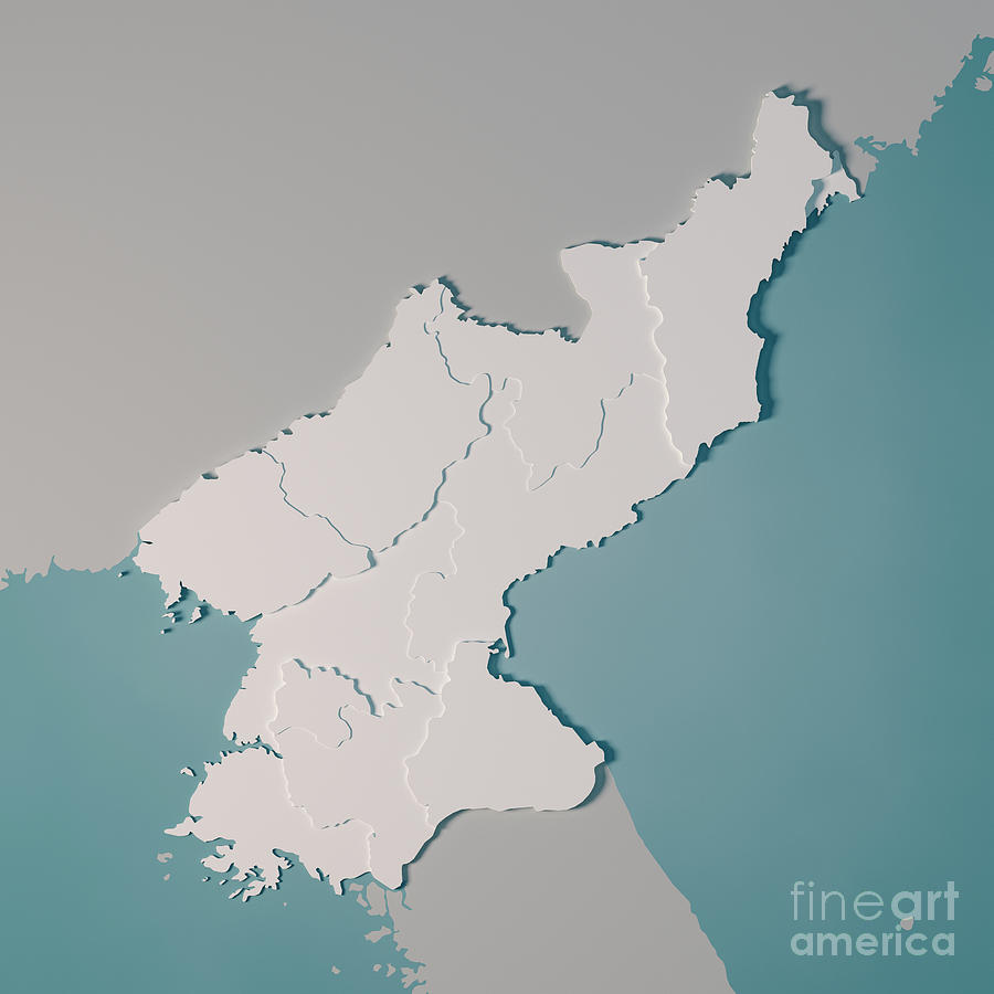 North Korea Country Map Administrative Divisions 3d Render by Frank on greenland country map, togo country map, apac country map, u.s. country map, kyrgyzstan country map, burkina faso country map, mid east country map, china country map, persian gulf country map, dominica country map, botswana country map, middle america country map, ww1 country map, bahamas country map, worldwide country map, korean culture country map, turkmenistan country map, uzbekistan country map, turkestan country map, pyongyang country map,