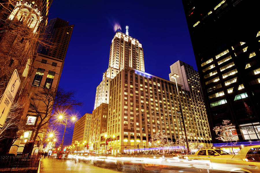 North Michigan Avenue, Downtown Photograph by Stevegeer