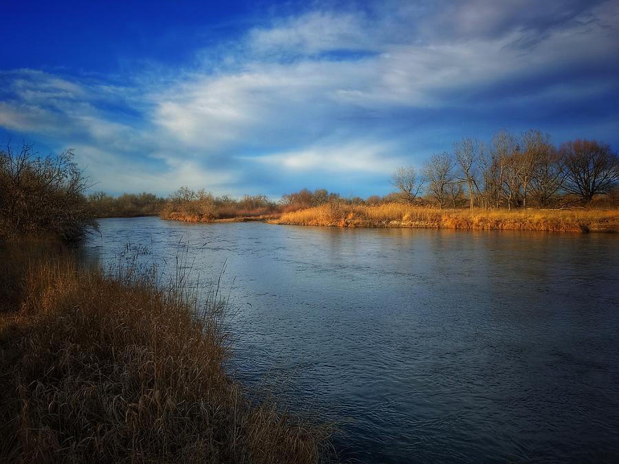 North Platte River by Dan Miller