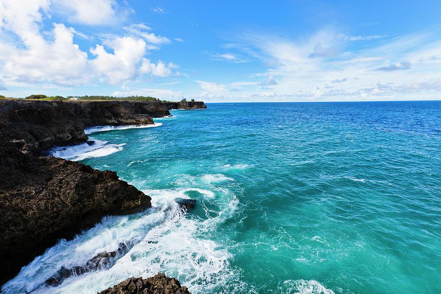 North Point, Barbados Photograph by Argalis