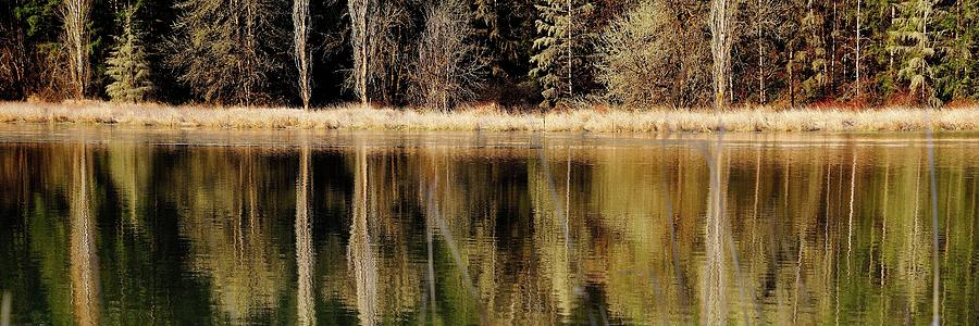 North Valley Road Reflections by Jerry Sodorff