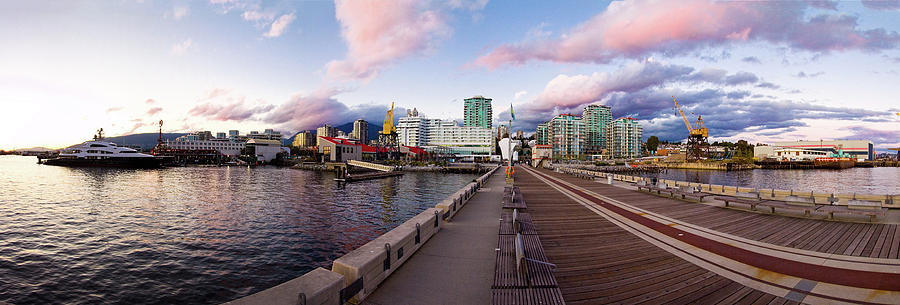 Panoramic Photograph - North Vancouver by Klassen Images