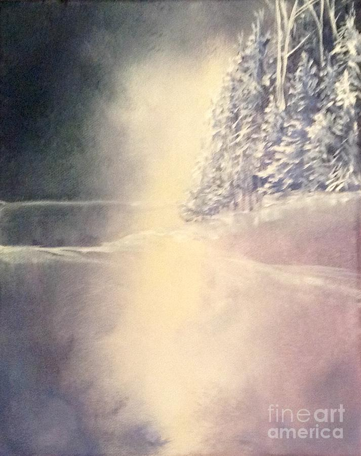 Landscape Painting - Northeastern Light by Laurel Adams