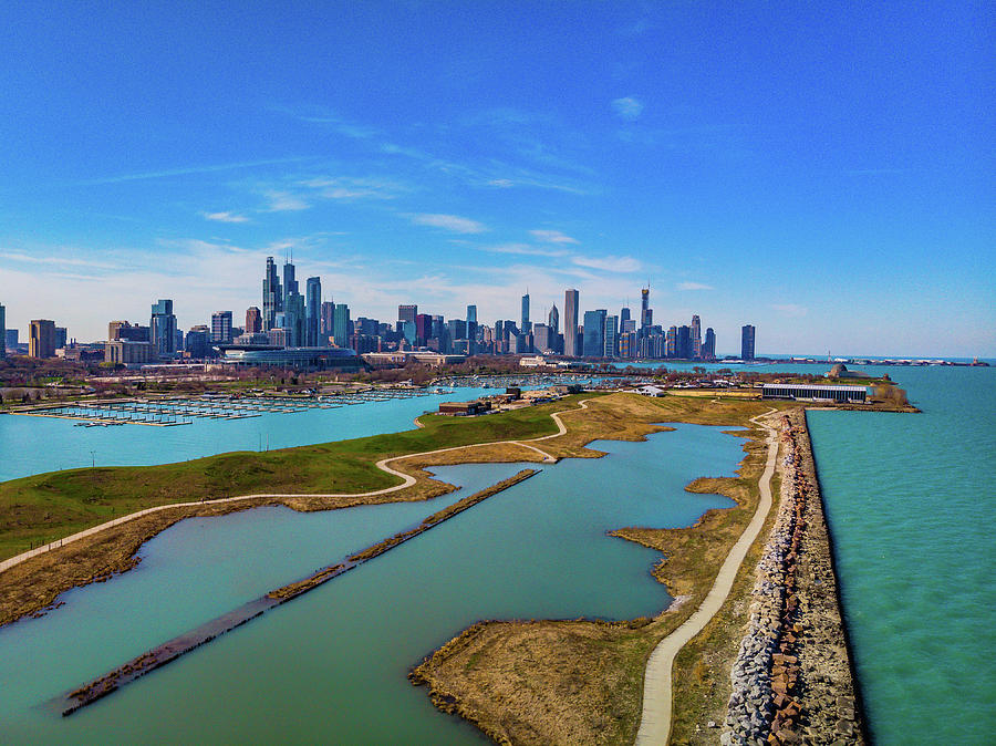 Northerly Island, Chicago, IL by Bobby King