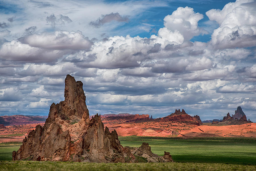 Northern Arizona Rocky Outcrop by Dave Dilli