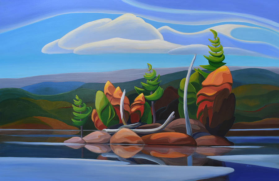 Northern Island II by Barbel Smith