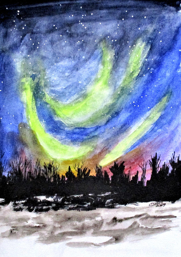 Northern Lights by Clyde J Kell