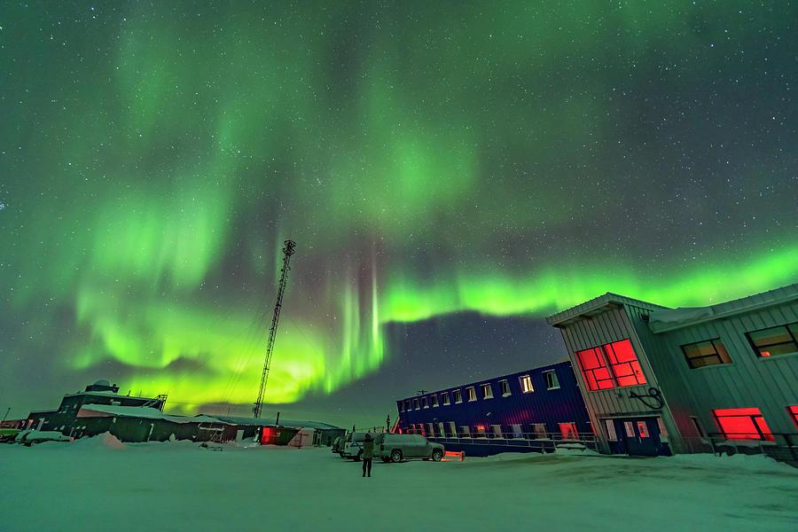 Northern Lights Display by Alan Dyer