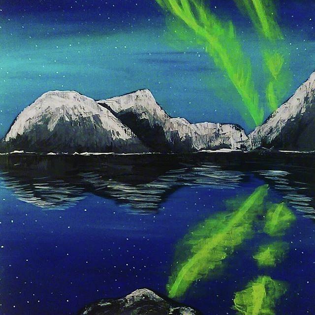 Northern Lights  by Jennah Lenae