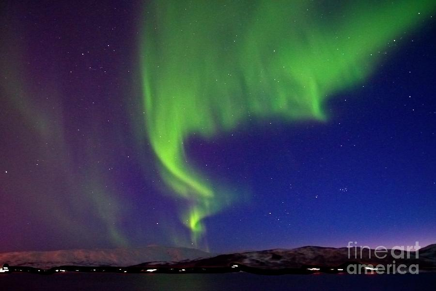 Northern Lights over Tromso Norway by Martyn Arnold