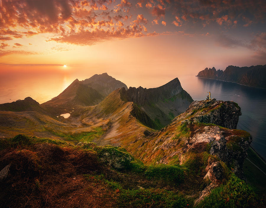 Northern Norway Photograph by Milen Dobrev
