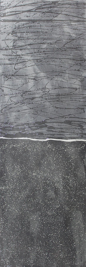Northern Slate Stone Painting by Kelly Gowan