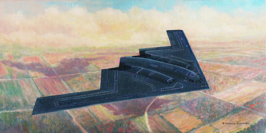 Northrop B-2 Spirit by Douglas Castleman
