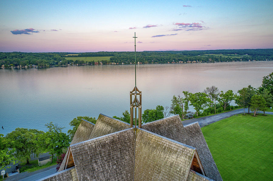 Norton Chapel Cross  by Ants Drone Photography