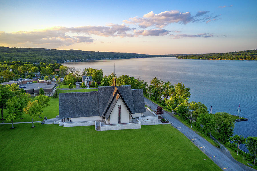 Norton Chapel Upstate New York by Ants Drone Photography