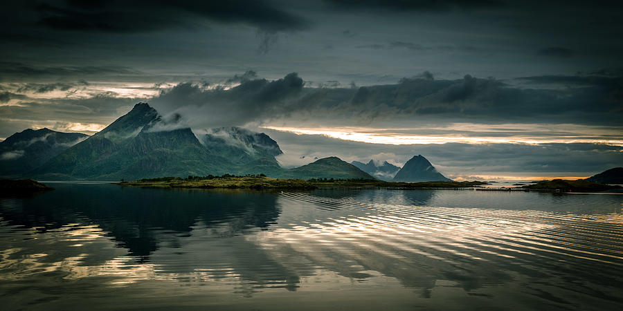 Norway Landscape Photograph by Nature And Beauty Photographer