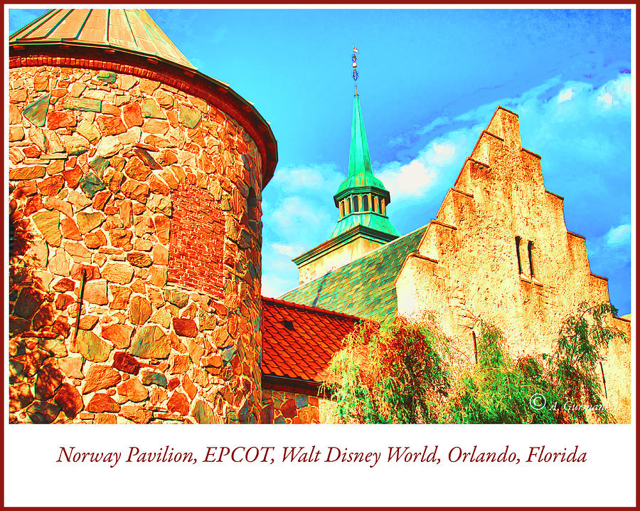 Norway Pavilion, EPCOT, Walt Disney World, Orlando, Florida by A Gurmankin