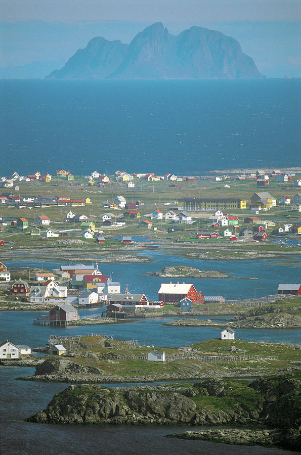 Norway, Rost Island, Elevated View Photograph by Peter Adams