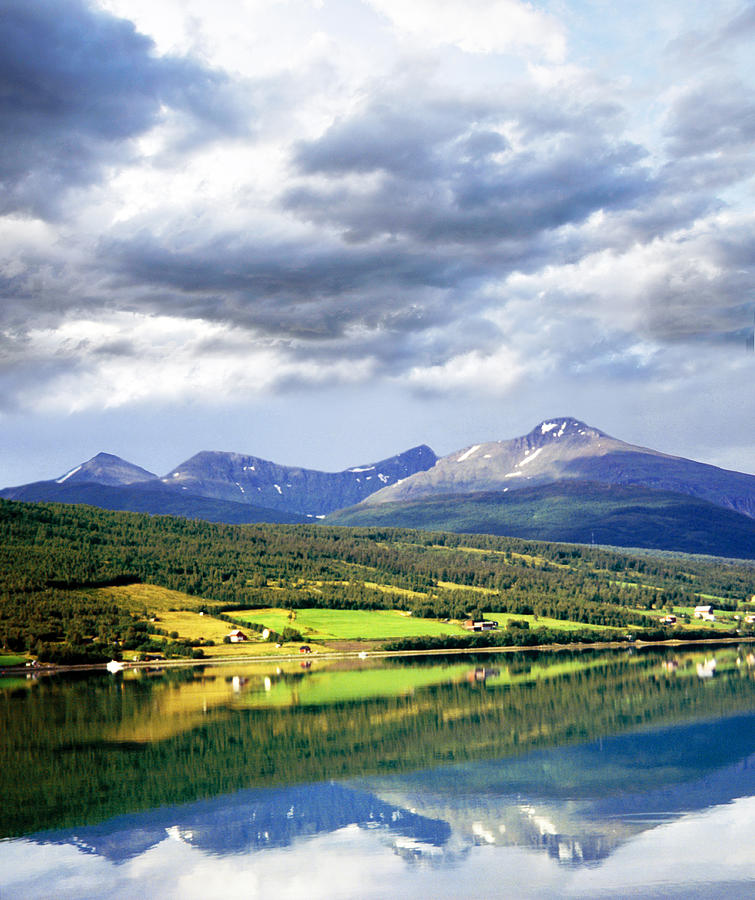 Norway Storfjorden Photograph by (c)paolodelpapa