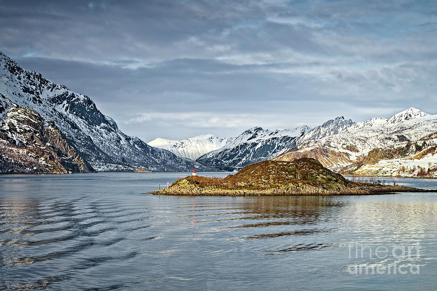 Norwegian Mountain Landscape Lofoten by Martyn Arnold