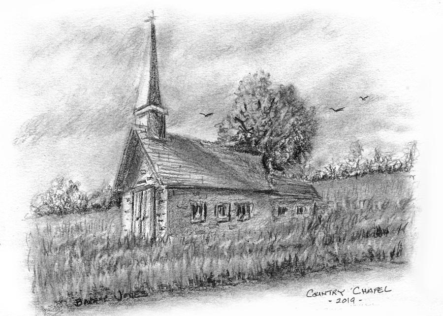 Nostalgic Country Chapel by Barry Jones