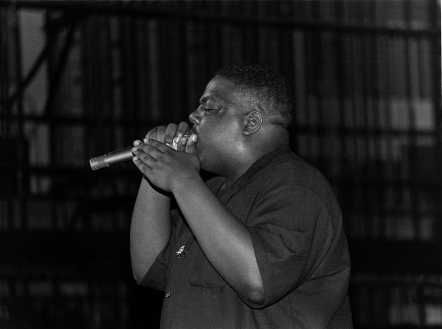 Notorious B.i.g. Live In Chicago Photograph by Raymond Boyd