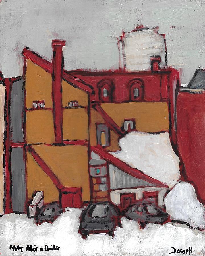 Notre Allee a Quebec by David Dossett