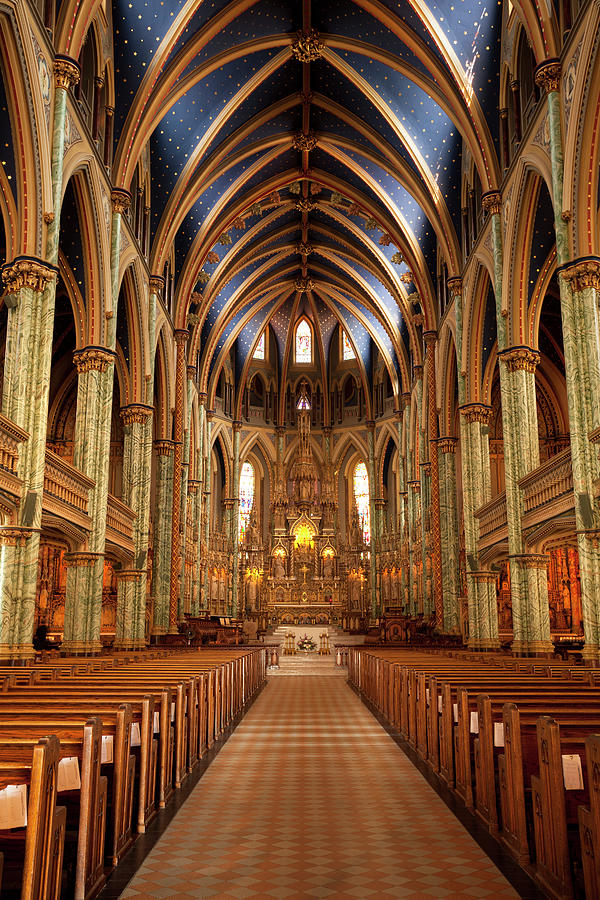 Notre Dame Cathedral Ottawa Photograph by Pgiam