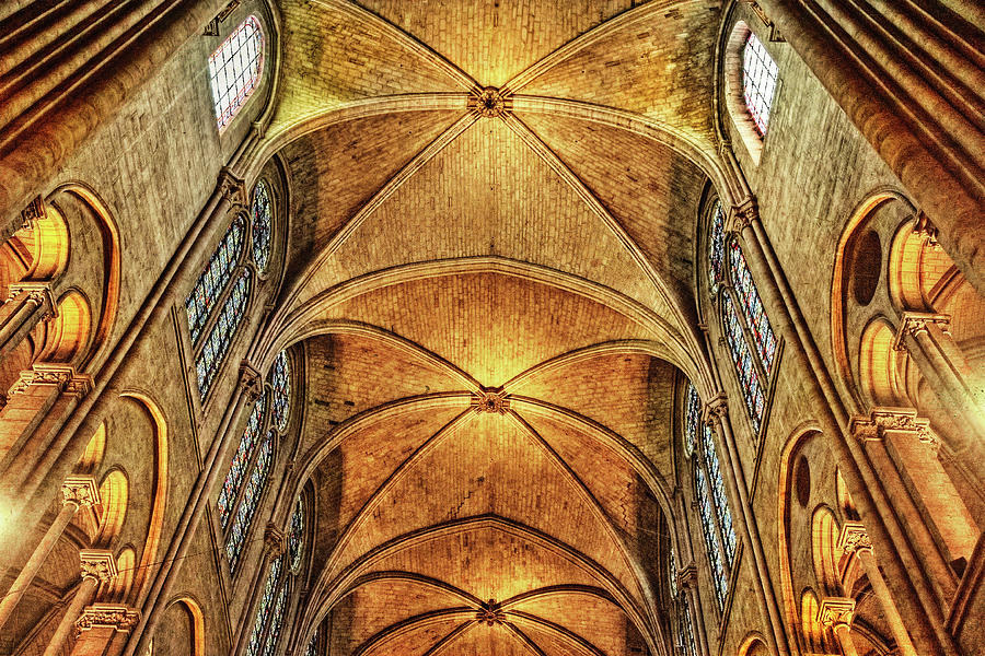 Notre Dame Cathedral, Paris, France by Kay Brewer