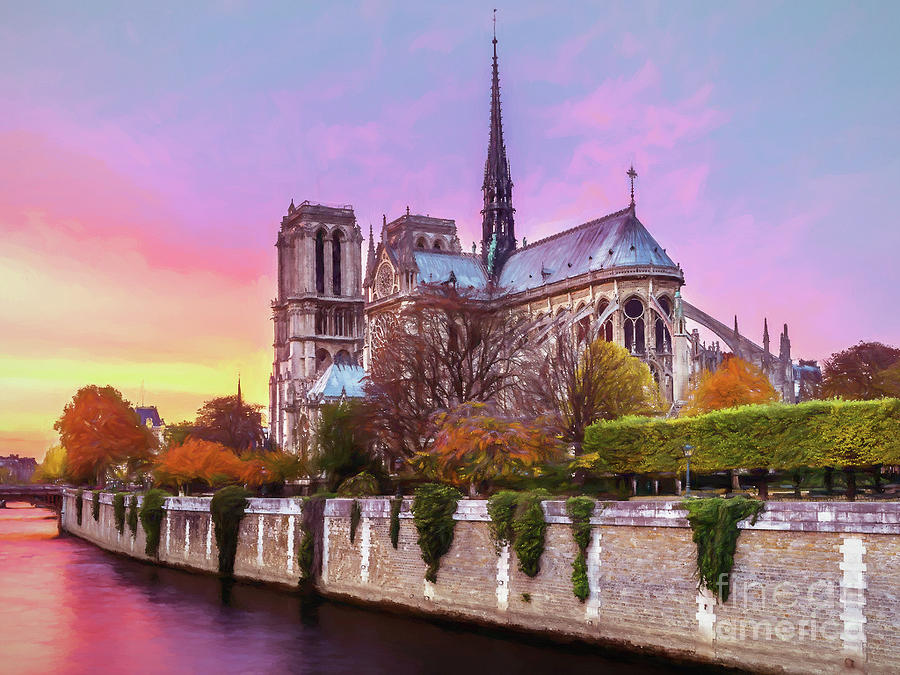 Notre Dame Cathedral by Sue Harper