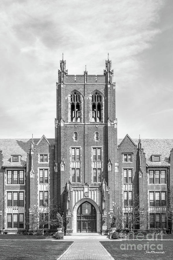 Notre Dame College Administration Building Tower by University Icons
