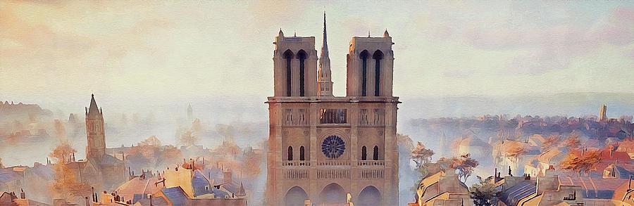 Notre-Dame de Paris - 05 by Andrea Mazzocchetti