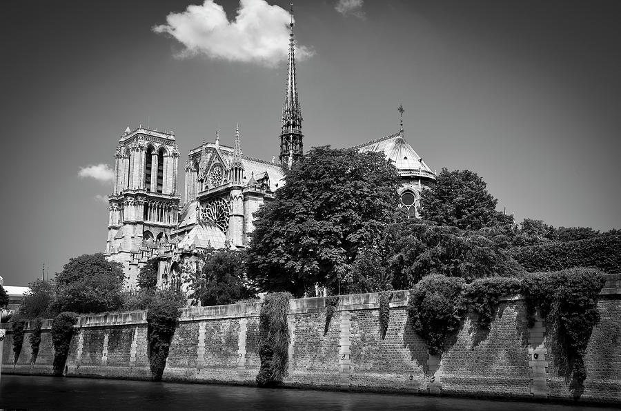 Notre Dame de Paris before the fire of 2019 BW by RicardMN Photography