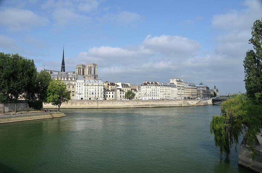 Notre Dame de Paris on Ile de la Cite from the Northeast by RicardMN Photography