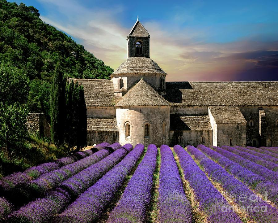 Notre Dame de Senanque by Edmund Nagele