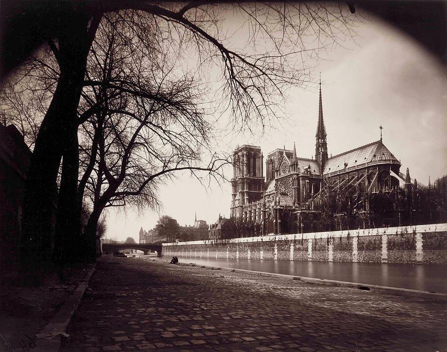 Notre-Dame, 1923 by Eugene Atget