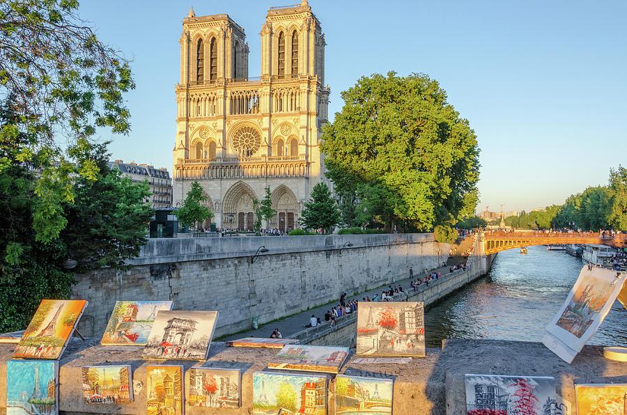 Notre Dame View by Douglas Wielfaert