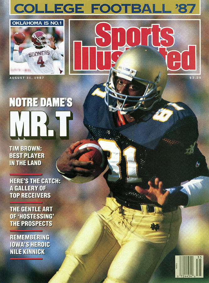 Notre Dames Mr. T 1986 College Football Preview Issue Sports Illustrated Cover Photograph by Sports Illustrated