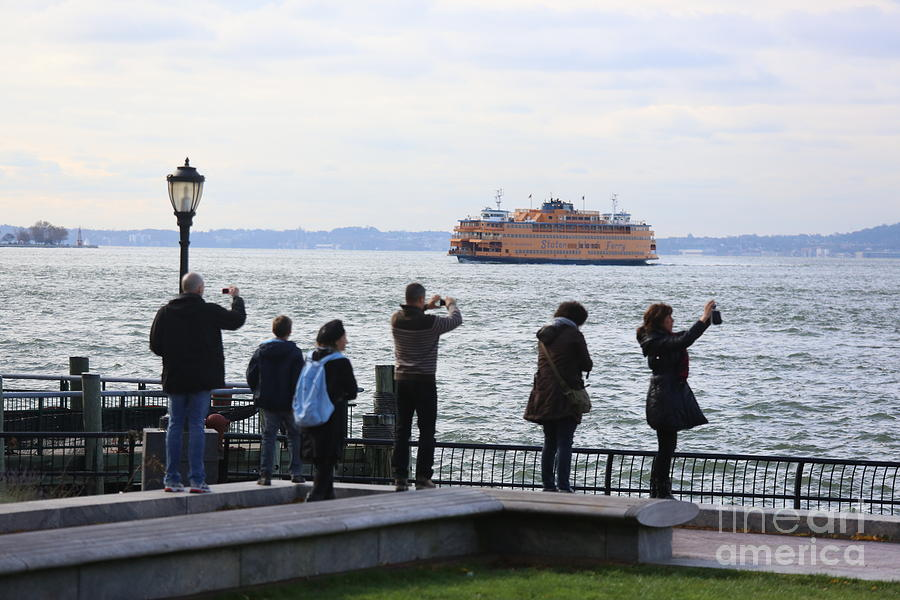 Nov 1st 2012  3 days after Hurricane Sandy NYC Tourist  by Chuck Kuhn