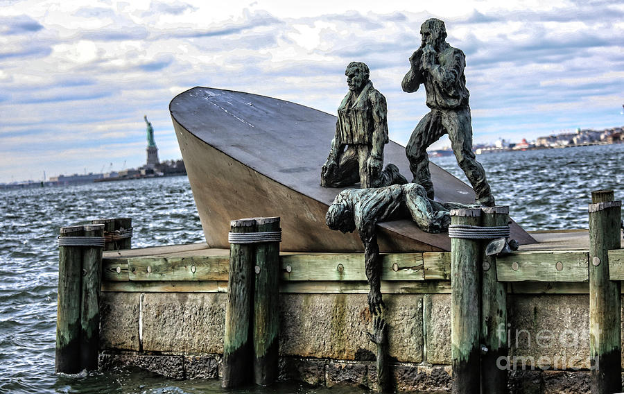 Nov 2012 Merchant Marine Vessel Memorial WWII  Memorial  by Chuck Kuhn