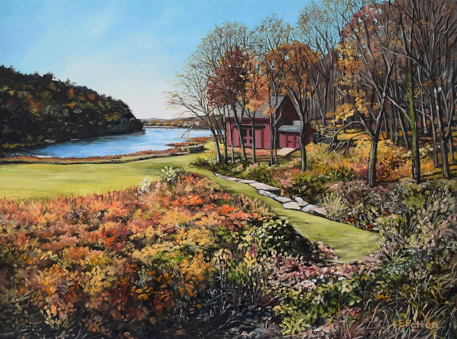 November, Lobster Cove, Annisquam by Eileen Patten Oliver