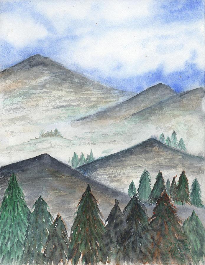 November Mountains by Betsy Hackett