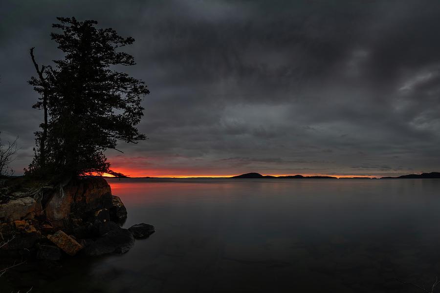 November Sunrise at Picnic Point by Jakub Sisak