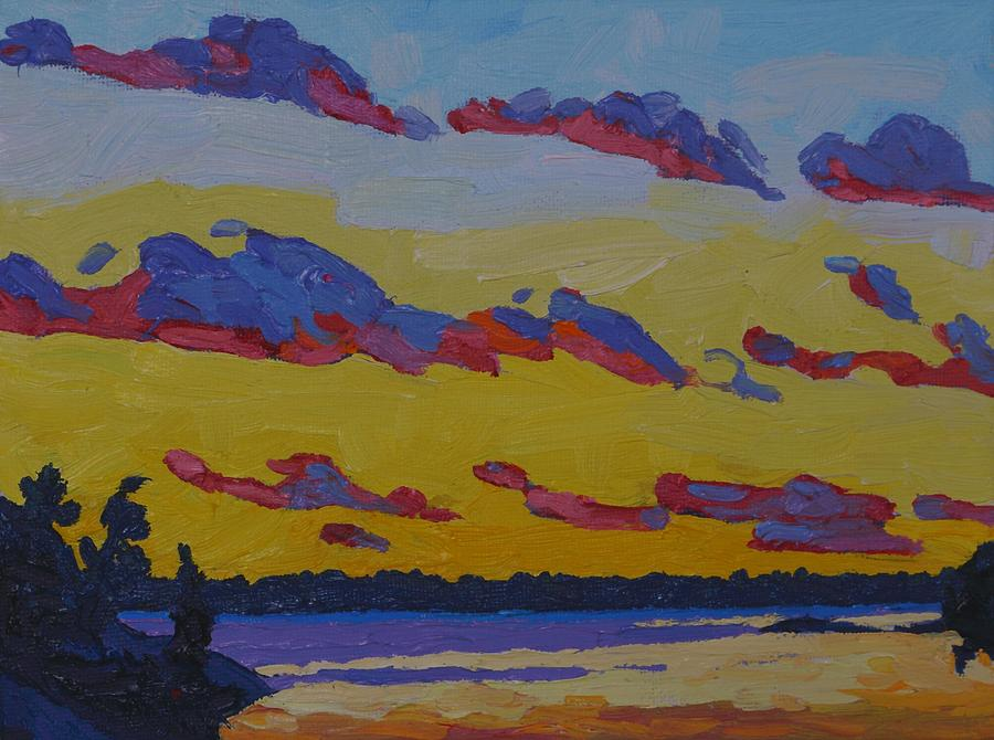 November Sunset Stratocumulus by Phil Chadwick