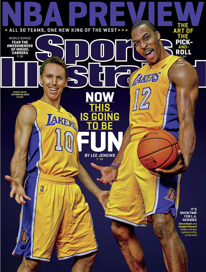 Now This Is Going To Be Fun 2012-13 Nba Basketball Preview Sports Illustrated Cover Photograph by Sports Illustrated